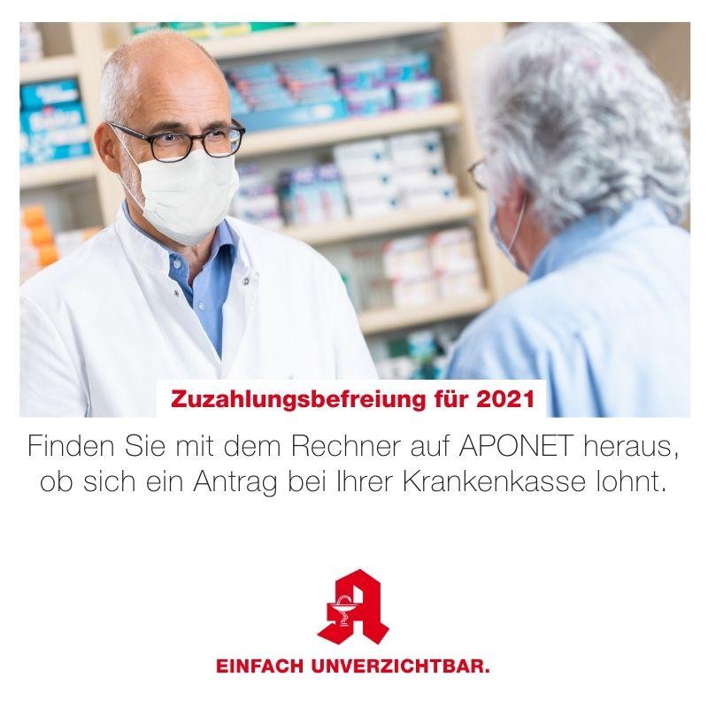 Zuzahlungsbefreiung Medikamente 2021 beantragen