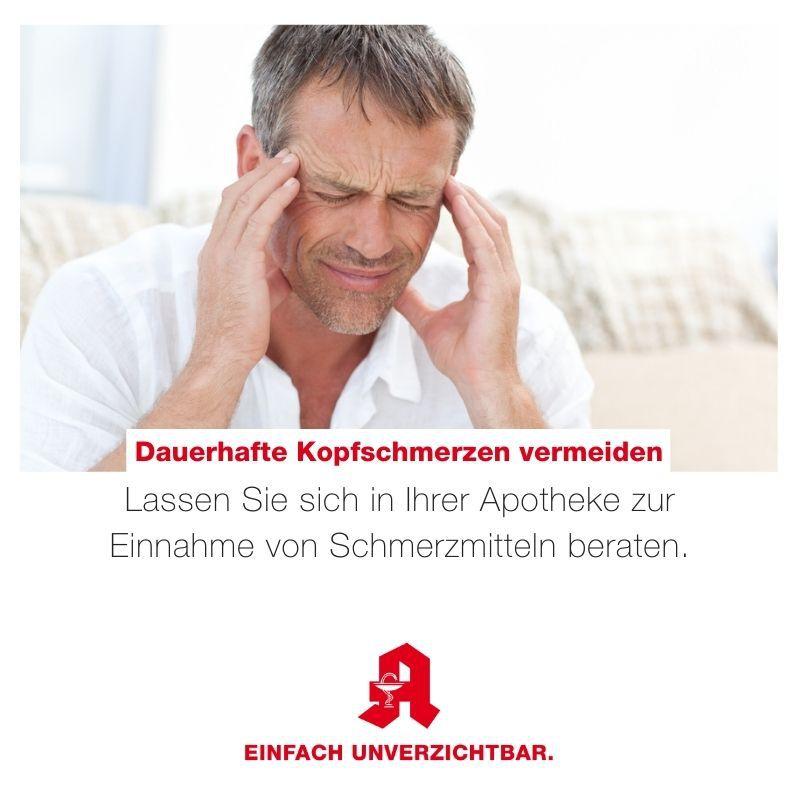 Dauerhafte Kopfschmerzen vermeiden