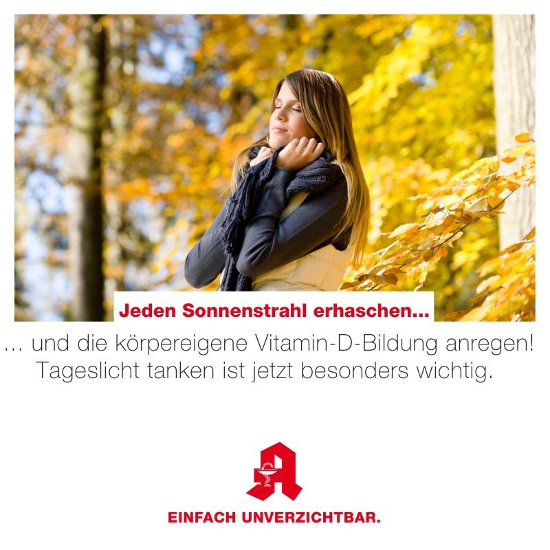 Vitamin D zum Herbstanfang